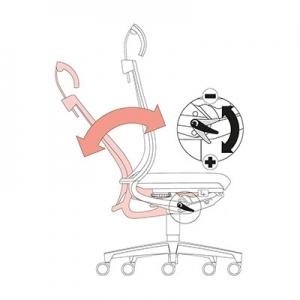 Stol omogoča prilagoditev različni teži posameznika
